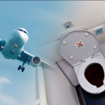 This Is What Happens To Your Poop When You Defecate In A Plane's Lavatory.