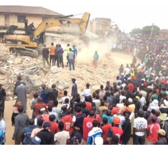 12 Bodies Recovered In Collapsed Building In Jos (Update) - Yugo