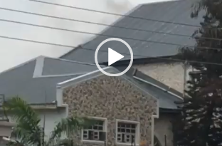 Parts of Davido's Father's House Gutted By Fire (video)