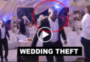 Man Dressed As An Usher Caught On CCTV Stealing Bags Of Money In A Wedding Ceremony (Video)