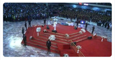 Bishop Oyedepo's 9 'Bodyguards' At Shiloh 2019 Sparks Controversy