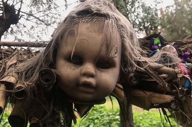 Checkout Inside the Scary Island of the Dolls Where Dark Tourists are 'haunted by drowned girl' 1