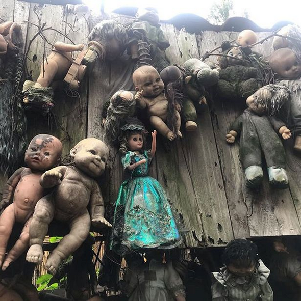 Checkout Inside the Scary Island of the Dolls Where Dark Tourists are 'haunted by drowned girl' 3