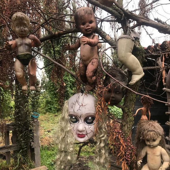 Checkout Inside the Scary Island of the Dolls Where Dark Tourists are 'haunted by drowned girl' 4