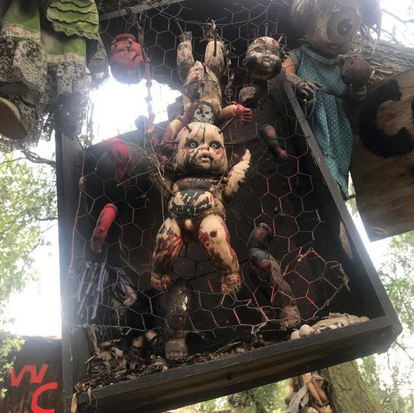 Checkout Inside the Scary Island of the Dolls Where Dark Tourists are 'haunted by drowned girl' 5
