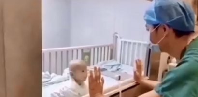 HEARTBREAKING Video Of A BABY INFECTED WITH CORONA VIRUS image 1