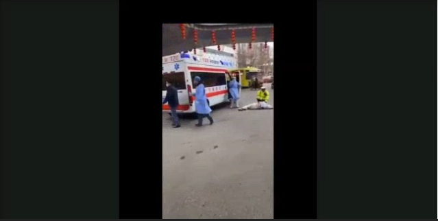 Video Footage Shows People Dropping To The Ground in China Amid Corona-virus Outbreak picture 3